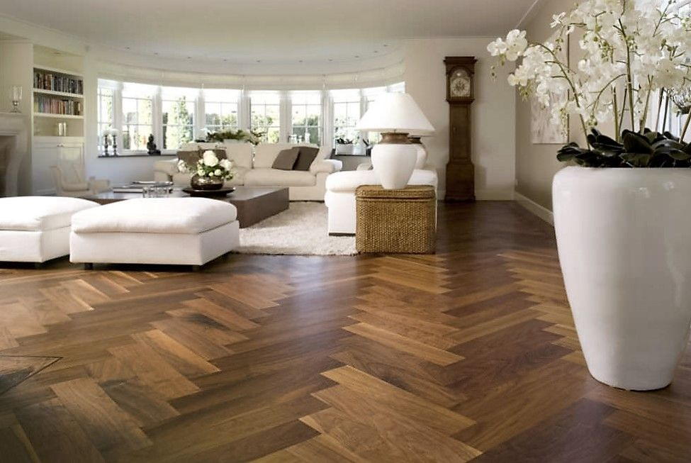 Oak atique herringbone